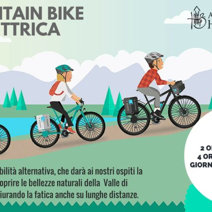 Hotel Isolabella - E-bike - pedalata assistita
