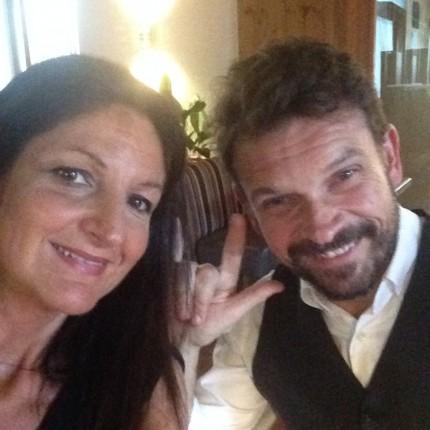 Antonella e Paolo - titolari dell'Hotel Isolabella Wellness Art&Music