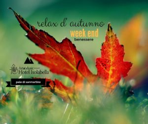 Hotel Isolabella - Relax d'autunno